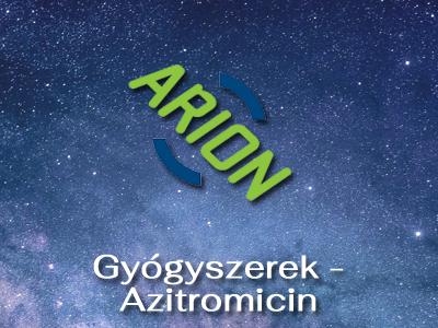 Gyógyszerek – Azitromicin