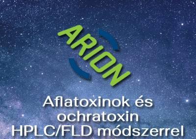 Aflatoxinok és ochratoxin HPLC/FLD módszerrel