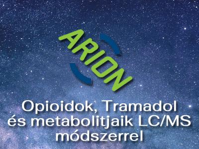 Opioidok, Tramadol és metabolitjaik LC/MS módszerrel