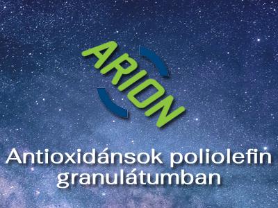 Antioxidánsok poliolefin granulátumban