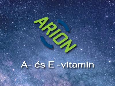A- és E -vitamin