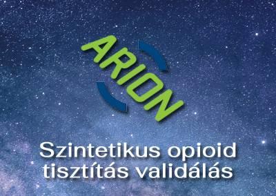 Szintetikus opioid tisztítás validálás